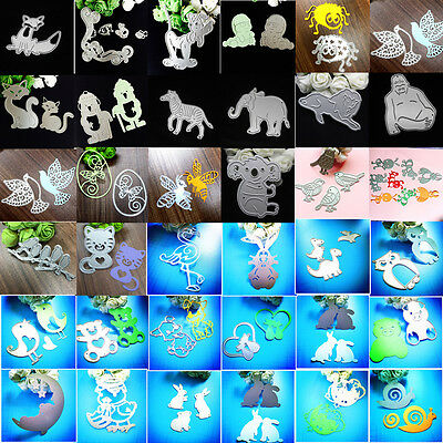 New DIY Metal Cutting Dies Stencil Scrapbooking Embossing Album Paper Card Craft