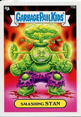 Garbage Pail Kids Mini Cards 2013 Base Card 70b Smashing STAN