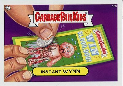 Garbage Pail Kids Mini Cards 2013 Base Card 77a Instant WYNN