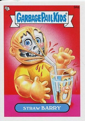 Garbage Pail Kids Mini Cards 2013 Base Card 94a Straw BARRY