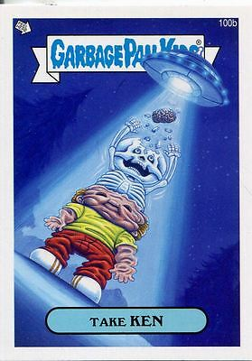 Garbage Pail Kids Mini Cards 2013 Base Card 100b Take KEN
