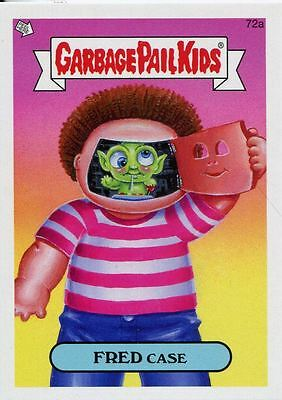 Garbage Pail Kids Mini Cards 2013 Base Card 72a FRED Case