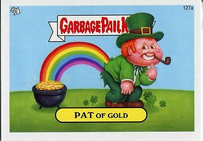 Garbage Pail Kids Mini Cards 2013 Base Card 127a PAT Of Gold