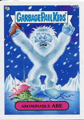 Garbage Pail Kids Mini Cards 2013 Base Card 137b Abominable ABE
