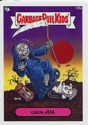 Garbage Pail Kids Mini Cards 2013 Base Card 108a Grim JIM
