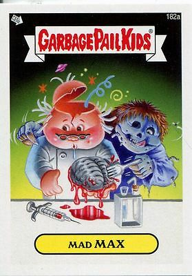 Garbage Pail Kids Mini Cards 2013 Base Card 182a Mad MAX