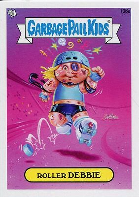 Garbage Pail Kids Mini Cards 2013 Base Card 106a Roller DEBBIE