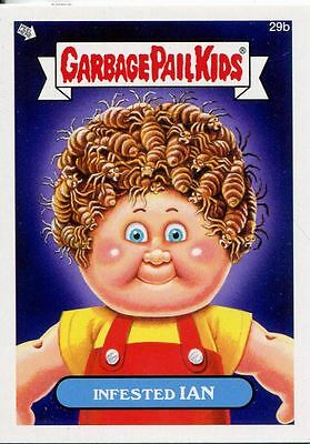 Garbage Pail Kids Mini Cards 2013 Base Card 29b Infested IAN