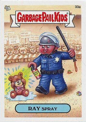 Garbage Pail Kids Mini Cards 2013 Base Card 33a RAY Spray