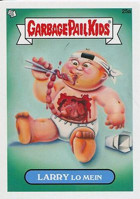 Garbage Pail Kids Mini Cards 2013 Base Card 25a LARRY Lo Mein