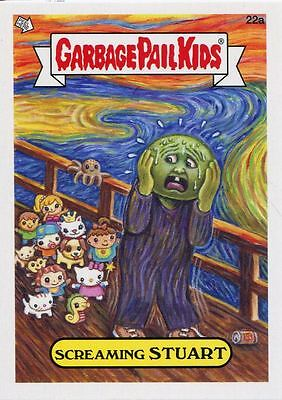 Garbage Pail Kids Mini Cards 2013 Base Card 22a Screaming STUART