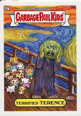 Garbage Pail Kids Mini Cards 2013 Base Card 22b Terrified TERENCE