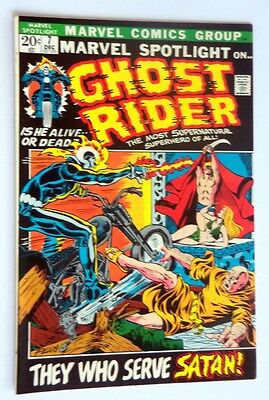 Marvel Spotlight #7 Ghost Rider Near Mint- 1972 Ow-White Pages