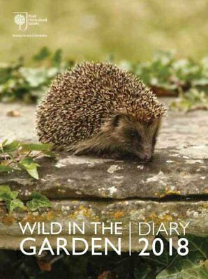 Royal Horticultural Society Wild in the Garden Diary 2018 by RHS 9780711238794