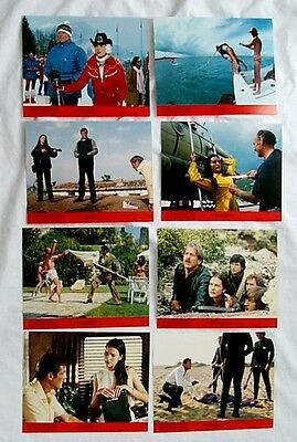 For Your Eyes Only Original Rare Lobby Card Set Of 8 James Bond 007 Roger Moore