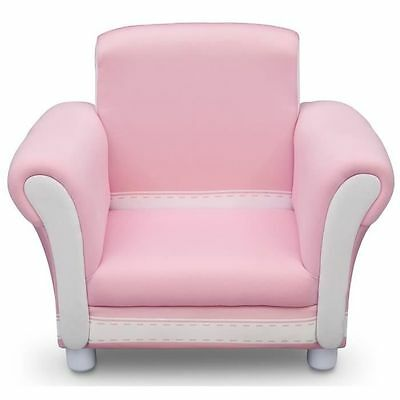 Fauteuil chesterfield Enfant rose [rosa] - Delta - Children Products  NEUF