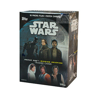 2016 Topps Star Wars Rogue One: Mission Briefing Blaster Box