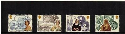 Mint 1987 Gb Victorian Britain Stamp Set Of 4 Muh Stamps