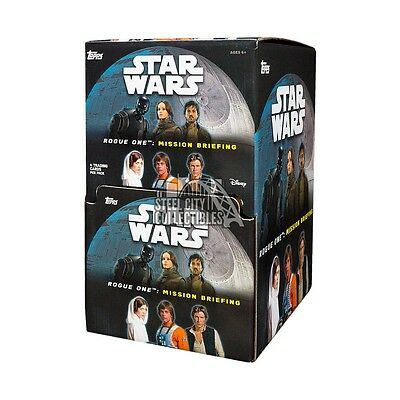 2016 Topps Star Wars Rogue One: Mission Briefing 60ct Gravity Feed Box