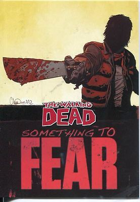 The Walking Dead Comics Series 2 Something To Fear Chase Card STF-6