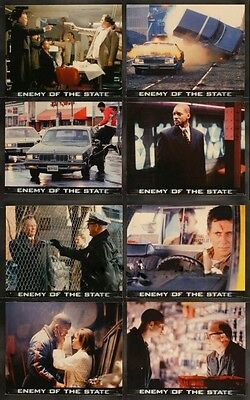 Enemy Of The State 11X14 Lobby Card Set Will Smith