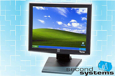 """ELO / Tyco  ET1515L 15"""" USB Touchscreen Monitor POS Display & Stand"""