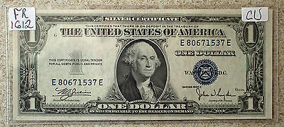 1935 C $1 Silver Certificate One Dollar Paper Money CU Currency #1537 FR# 1612