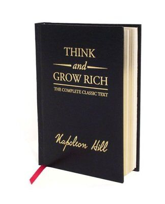 Think and Grow Rich by Napoleon Hill (2008, Hardcover, Deluxe)