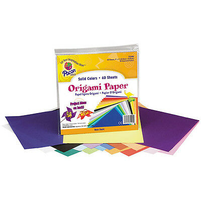 Creativity International - Origami Paper - 9 x 9 Inch - 40 Sheets