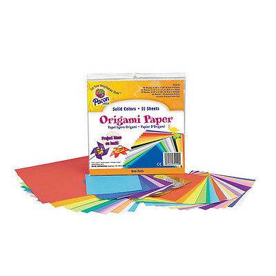 Pacon - Origami Paper - Sizes Up to 150mm - 55 Sheets