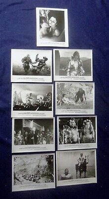 Excalibur 8X10 Glossy Still Set Of 9 Different King Arthur 1981 Nicol Williamson