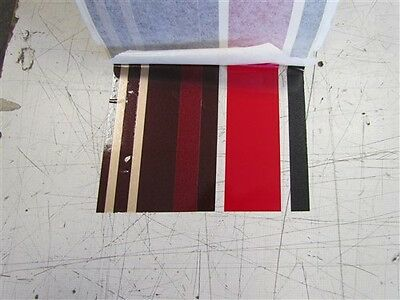 "Pinstripe Decal Tape Black / Red / Burgandy / Gold 5 3/4"" X 85' Marine Boat"