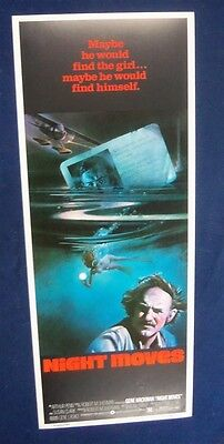 Night Moves 14X36 Original Rolled Movie Poster Insert 1975 Gene Hackman