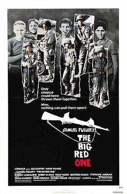 Big Red One Original 27X41 Rare Rolled Movie Poster Lee Marvin 1980 Mark Hamill