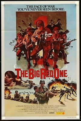 Big Red One Original 27X41 Rare Style B Rolled Movie Poster Lee Marvin 1980