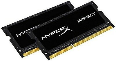 Kingston 16 Go 2x8Go HyperX Impact Black 2133MHz DDR3L CL11 SODIMM 1.35 NEUF