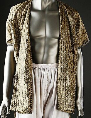 Alexander the Movie 2004 Indian Tunic Movie Used Prop// Costume Green Tunic