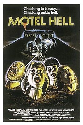 Motel Hell Original 27X41 Rolled Rare Style B Movie Poster 1980