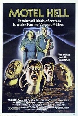 Motel Hell Original Rolled 27X41 Style A  Movie Poster 1980