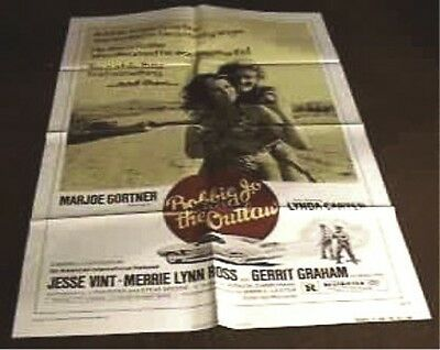 Bobbie Jo & The Outlaw Original 27X41 Movie Poster 1976