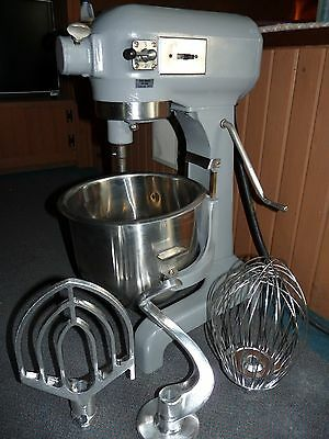Hobart A200 20 Quart Commercial Bakery Mixer New Stainless Bowl Dough Whip Hook