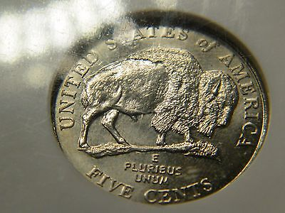 2005-D Speared Bison Jefferson Nickel NGC MS65 RARER THAN THE 3-Legged Buffalo