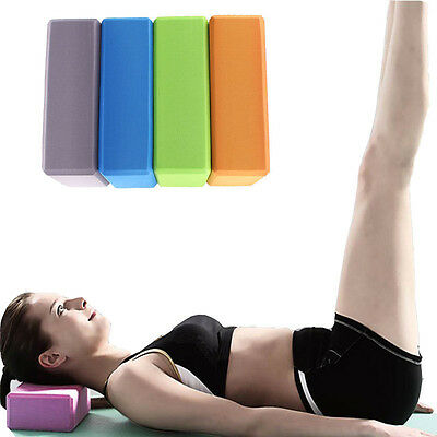 EVA Yoga Block Brick Sports Exercise Fitness Gym Workout Stretching Special
