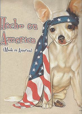 Chihuahua Hecho en Made in America Tote