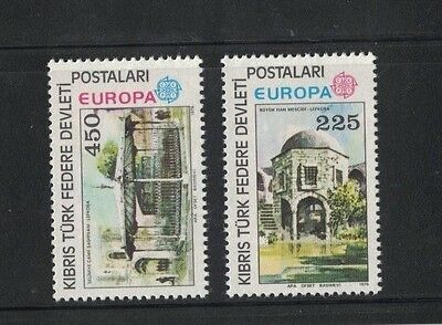 1978 Cyprus Turkish Post Europa Series SG 63/4 muh set of 2