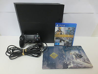 500Gb Ps4 Sony Playstation 4 Console Bundle With Game