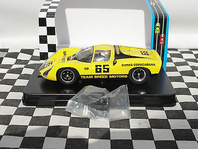 Mrrc Porsche  #65 Yellow   Mc103 Ne04312   1:32 Slot Bnib