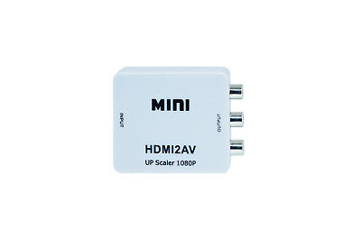 Adattatore Convertitore Video Da Hdmi A Av Rca Interfaccia Hdmi2Av