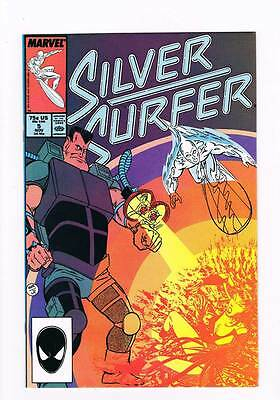 Silver Surfer # 5  Vol 2 1987 series !  grade - 9.0  scarce book !!