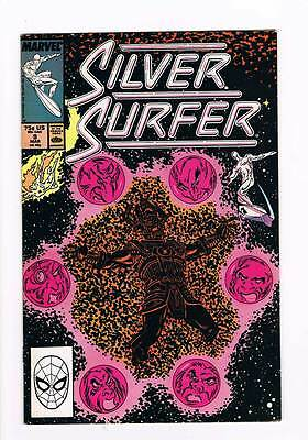 Silver Surfer # 9  Vol 2 1987 series !  grade - 7.5  scarce book !!